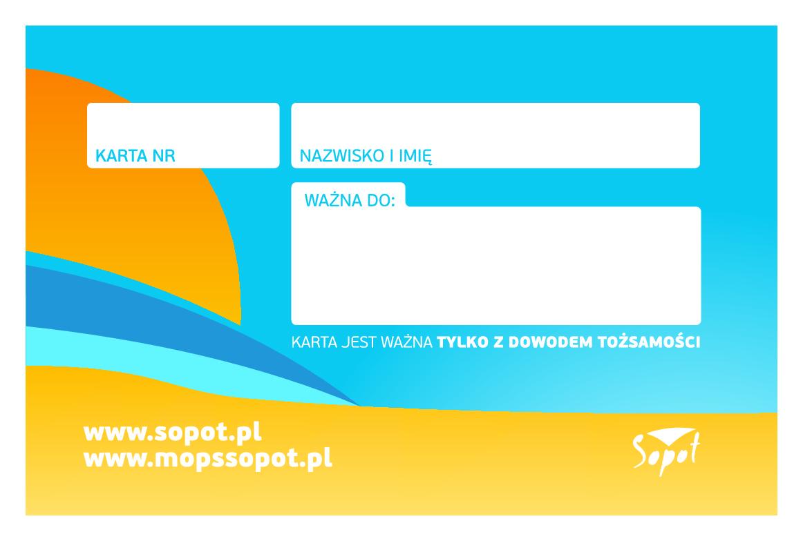 Tył Sopockiej Karty Rodziny 3+