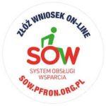 logo SOW - system obsługi wsparcia, przekierowanie do strony