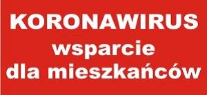 Koronawirus Wsparcie dla mieszkańców