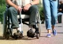 osoba na wózku inwalidzkim