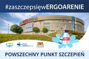 plakat Powszechny Punkt Szczepień w Sopocie