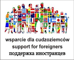 wsparcie dla cudzoziemców