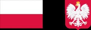 flaga oraz godło Polski