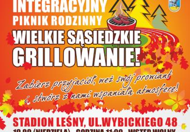 plakat Integracyjny Piknik Rodzinny